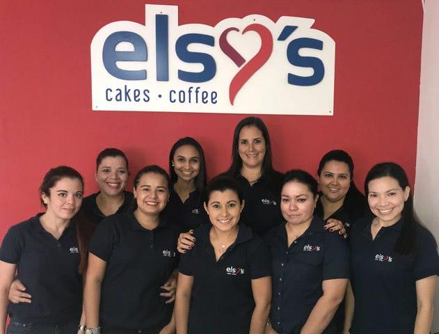 elsy's cakes coffee