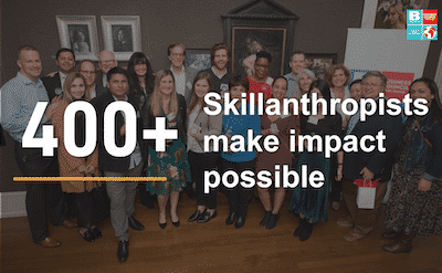 400+ skillanthropists