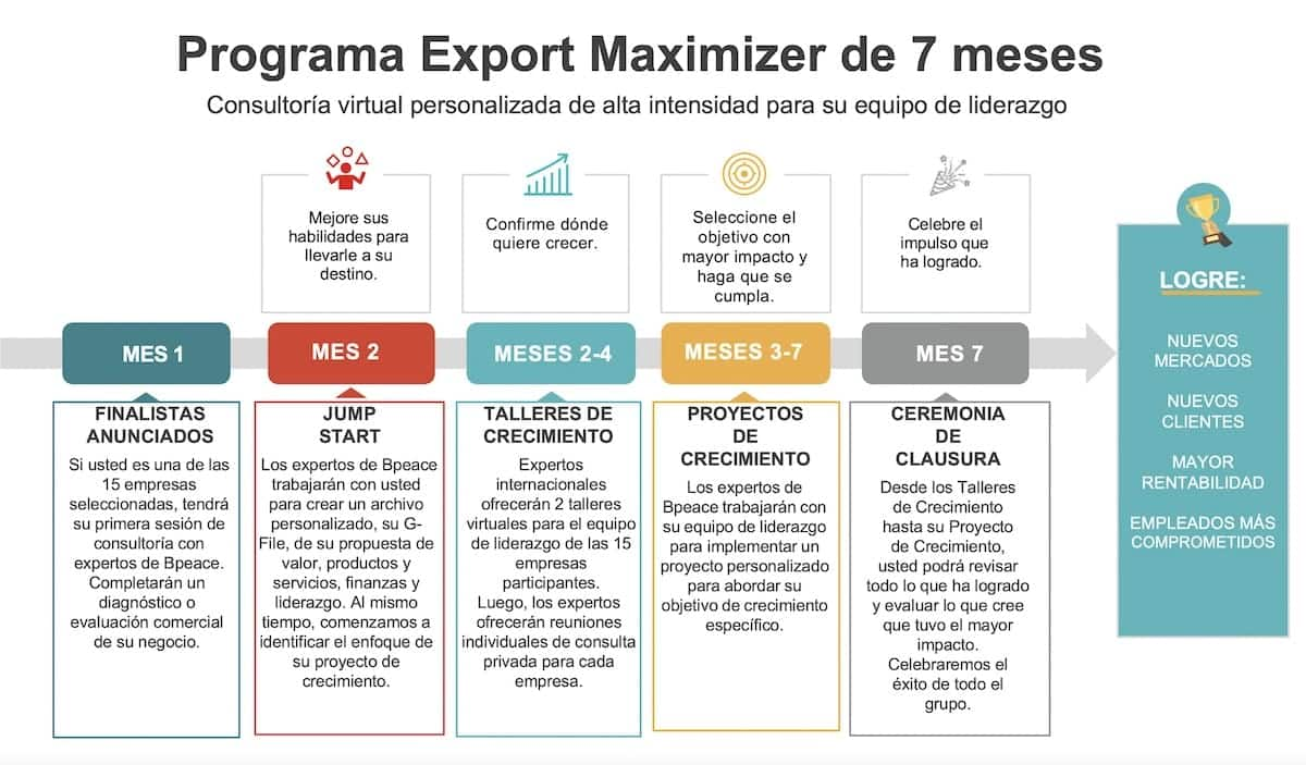 export maximizer journey map