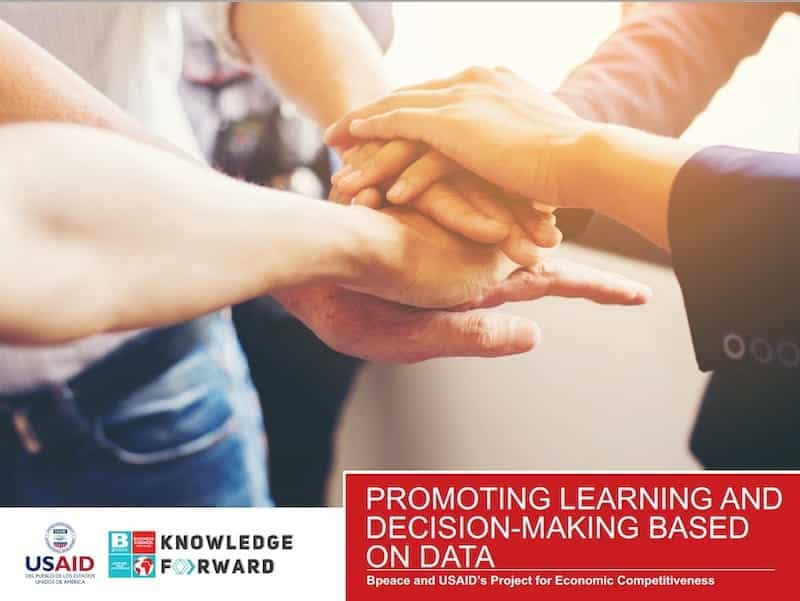 Promoting Learning and Decision-Making Based on Data