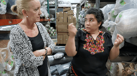 bpeace women talking